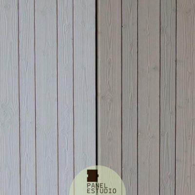 Friso BILAMA de abeto primera calidad en panel de cubierta. Tejado panel friso abeto.