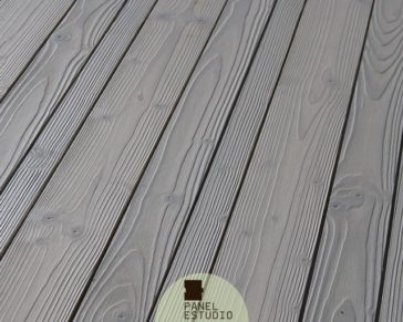 Friso TRILAMA en panel sandwich de madera con núcleo aislante. Panel friso abeto.