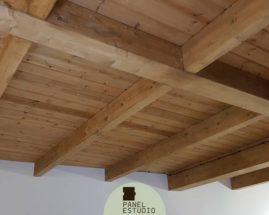 Entreplanta de madera.