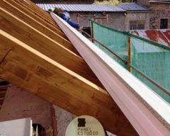 Montaje panel tejado.