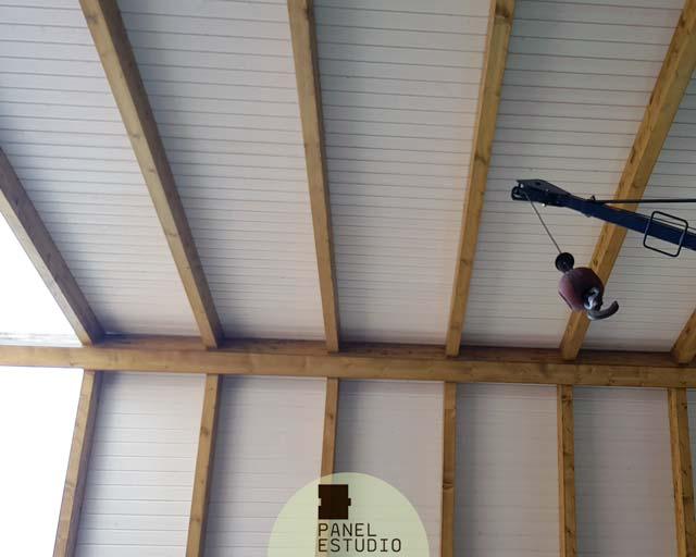 Panel De Madera Terrazas Y Porches Paneles De Madera Con