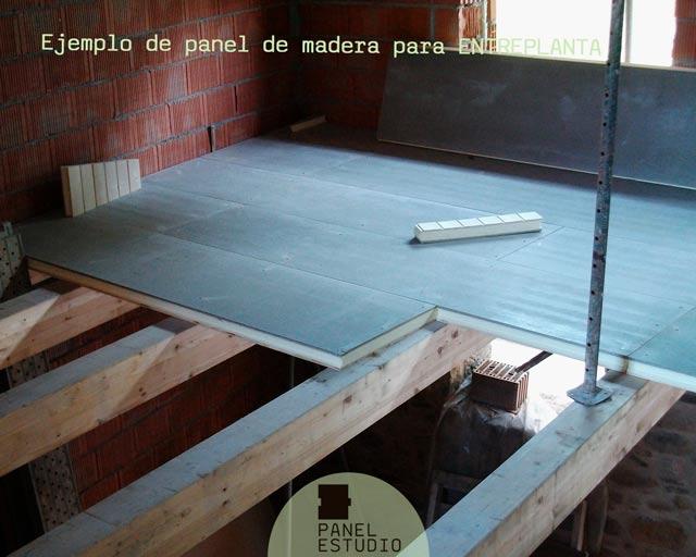 Abeto madera panel entreplanta rápido.