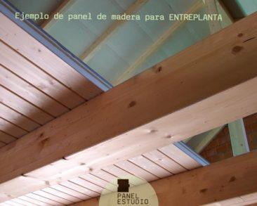 Como colocar panel entreplanta madera.