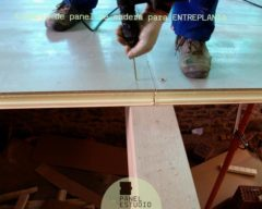 Como instalar panel entreplanta madera.